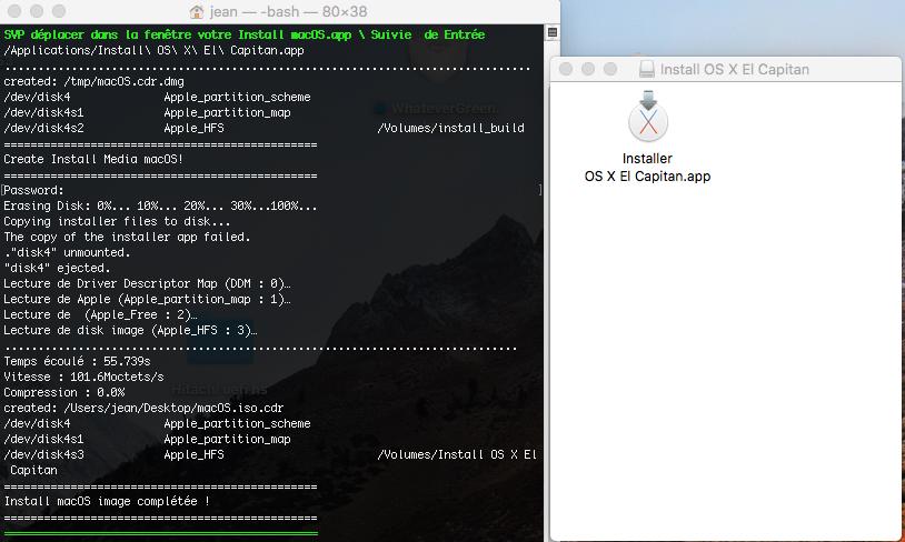Script pour créer un iso  de 10.9  a 10.14  pour VMware Isocap10