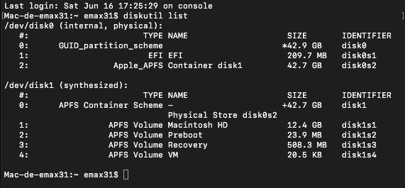 Script pour créer un iso  de 10.9  a 10.14  pour VMware Mojave10