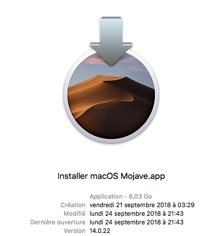 macOS Mojave Finale Release 10.14 (18A391) Mojave15