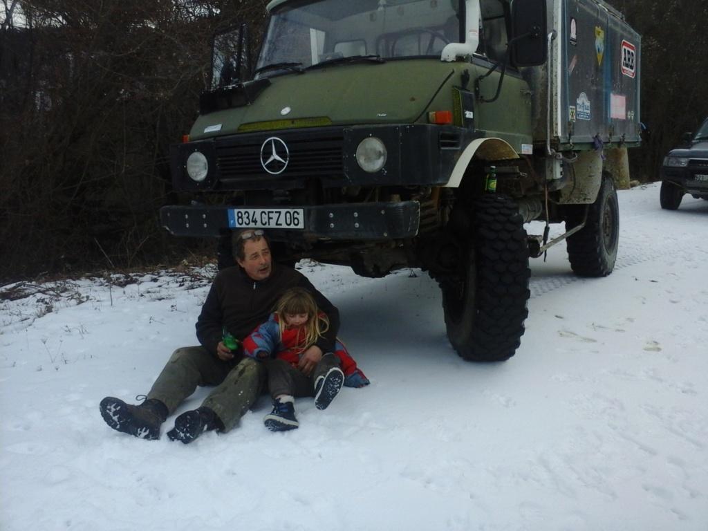 Unimog 411 Turbo dans la neige 20170212