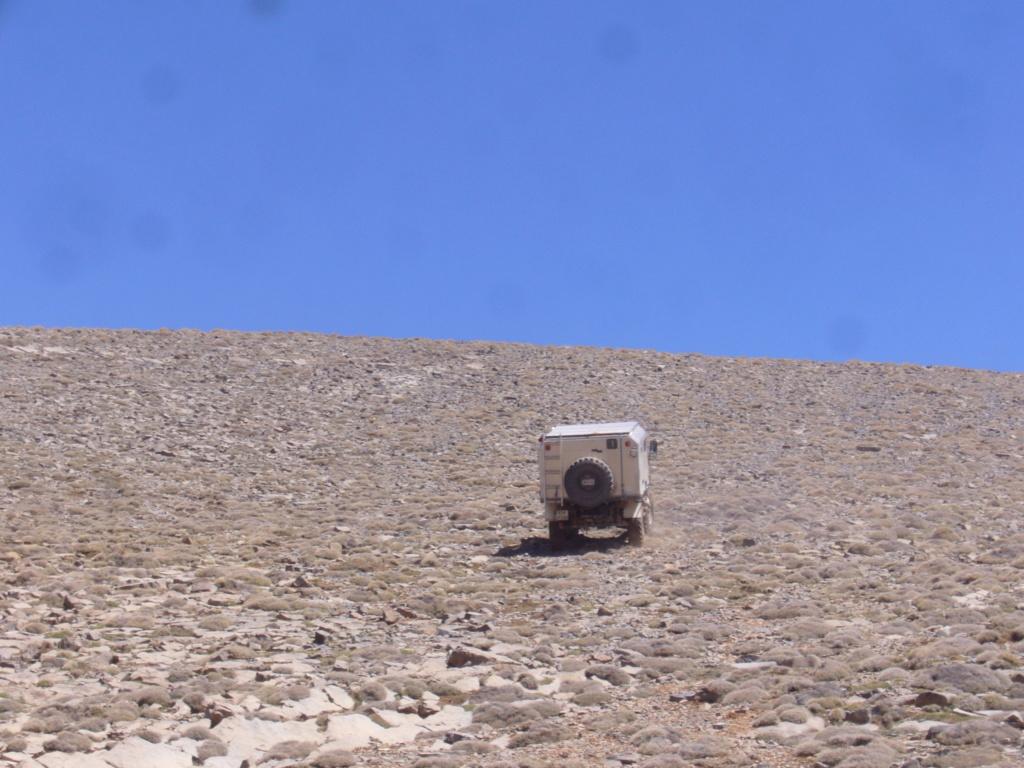 Unimog 411 Turbo dans la neige Maroc_10