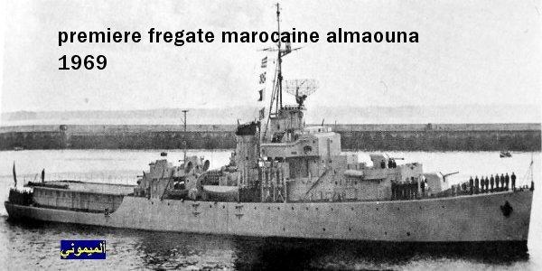 Royale - Les premiers navires de la Marine Royale (archives Mimouni) Almaou10