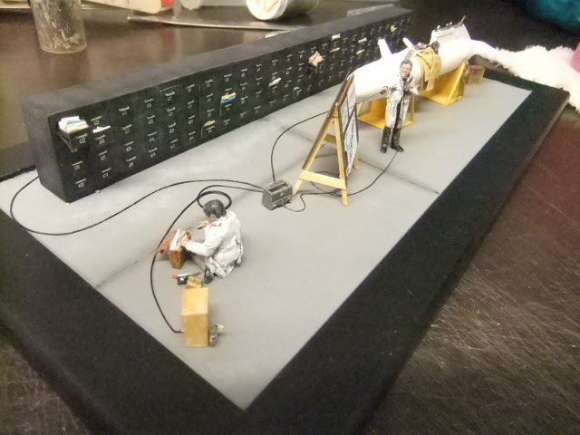 Diorama du Bidon largable du AVRO CF-105 ARROW Dscf3280