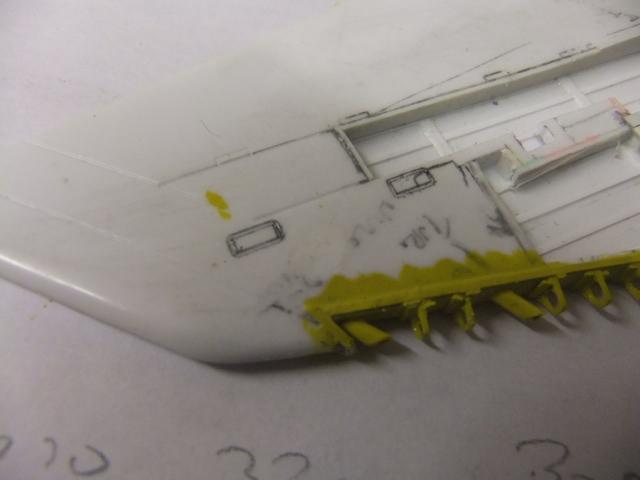 2 x CF-105 ARROW 'd'HOBBYCRAFT 1/48 avec quelque modification +Hanguar FFM+Hanguar de lancement des Bomarc - Page 13 Dscf7075