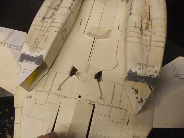 Le ROCKWELL B-1A 'PROTOTYPE ' de REVELL avec quelque modification ! - Page 12 Dscf7256