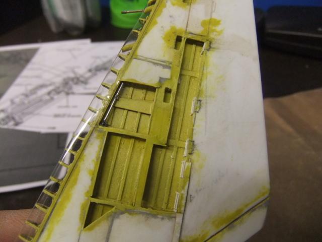 2 x CF-105 ARROW 'd'HOBBYCRAFT 1/48 avec quelque modification +Hanguar FFM+Hanguar de lancement des Bomarc - Page 13 Dscf7342