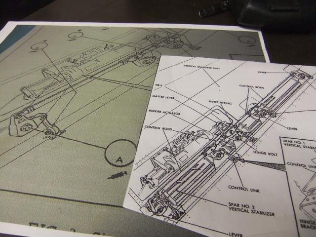 2 x CF-105 ARROW 'd'HOBBYCRAFT 1/48 avec quelque modification +Hanguar FFM+Hanguar de lancement des Bomarc - Page 13 Dscf7344