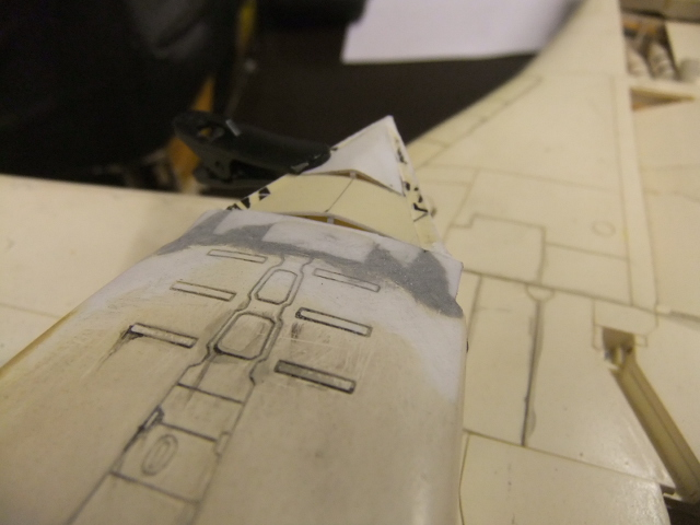 Le ROCKWELL B-1A 'PROTOTYPE ' de REVELL avec quelque modification ! - Page 12 Dscf7382