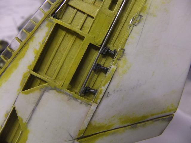 2 x CF-105 ARROW 'd'HOBBYCRAFT 1/48 avec quelque modification +Hanguar FFM+Hanguar de lancement des Bomarc - Page 13 Dscf7552