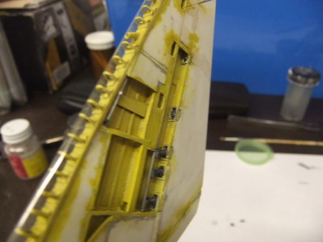 2 x CF-105 ARROW 'd'HOBBYCRAFT 1/48 avec quelque modification +Hanguar FFM+Hanguar de lancement des Bomarc - Page 13 Dscf7554
