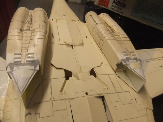 Le ROCKWELL B-1A 'PROTOTYPE ' de REVELL avec quelque modification ! - Page 12 Dscf7655