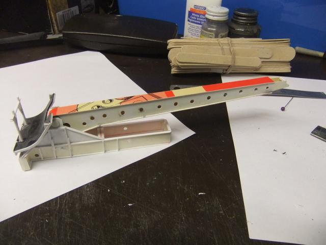 2 x CF-105 ARROW 'd'HOBBYCRAFT 1/48 avec quelque modification +Hanguar FFM+Hanguar de lancement des Bomarc - Page 13 Dscf8102