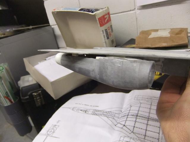 2 x CF-105 ARROW 'd'HOBBYCRAFT 1/48 avec quelque modification +Hanguar FFM+Hanguar de lancement des Bomarc - Page 13 Dscf8349