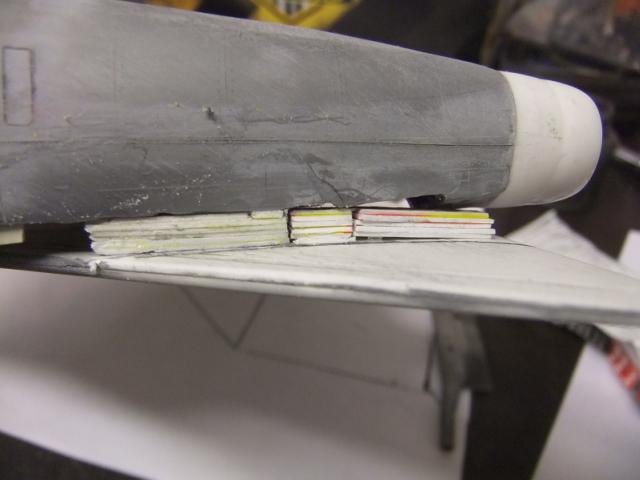 2 x CF-105 ARROW 'd'HOBBYCRAFT 1/48 avec quelque modification +Hanguar FFM+Hanguar de lancement des Bomarc - Page 13 Dscf8354