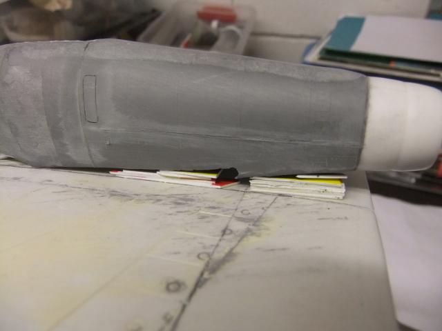 2 x CF-105 ARROW 'd'HOBBYCRAFT 1/48 avec quelque modification +Hanguar FFM+Hanguar de lancement des Bomarc - Page 13 Dscf8480