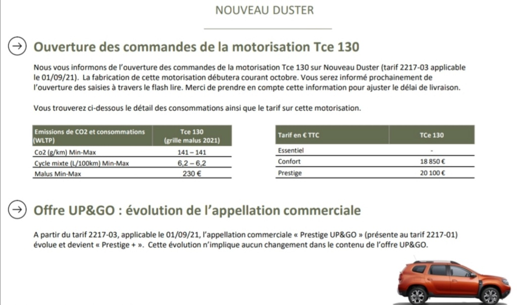 2021 - [Dacia] Duster restylé - Page 5 Duster11