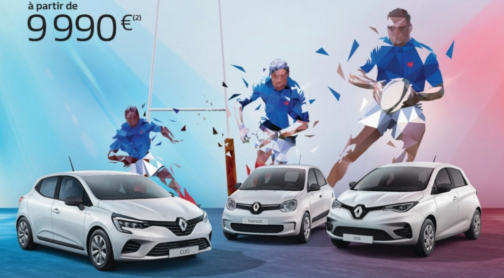2018 - [Renault] Twingo III restylée - Page 17 Rugby10