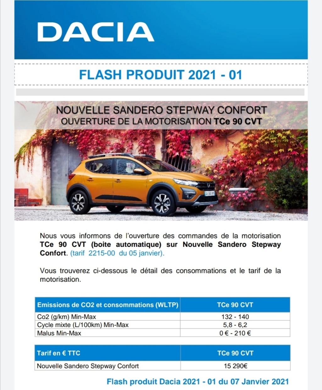 2020 - [Dacia] Sandero / Logan III - Page 37 Sander11