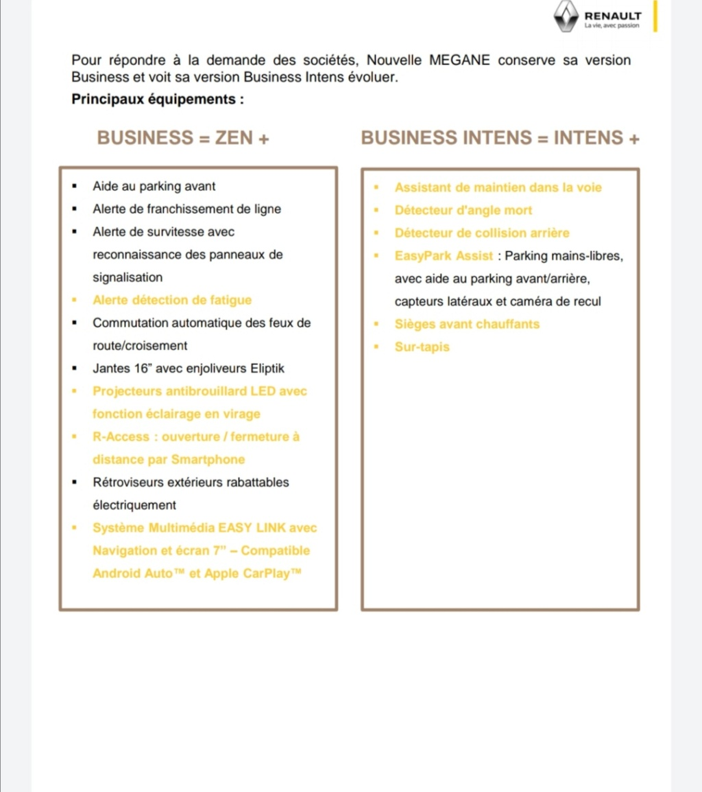 2019 - [Renault] Megane IV restylée  - Page 24 Screen14