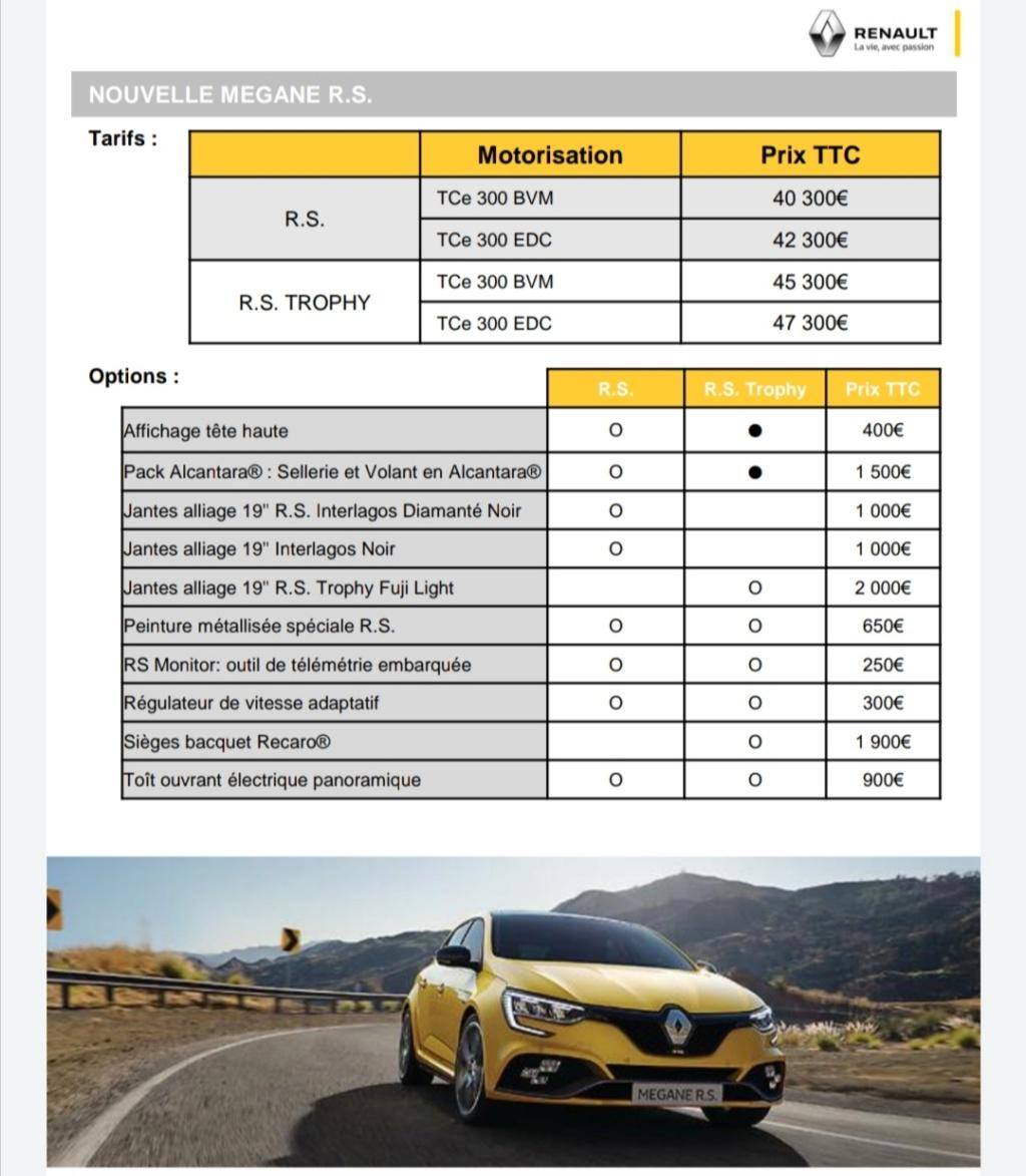 2019 - [Renault] Megane IV restylée  - Page 24 Screen21