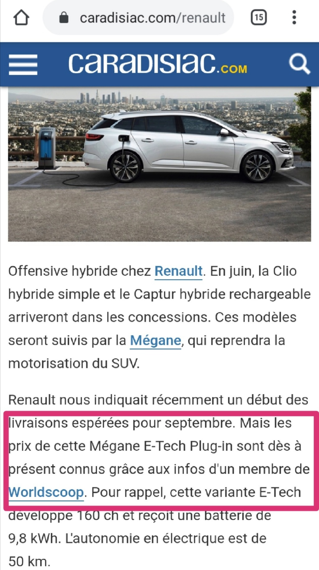 2019 - [Renault] Megane IV restylée  - Page 25 Screen27