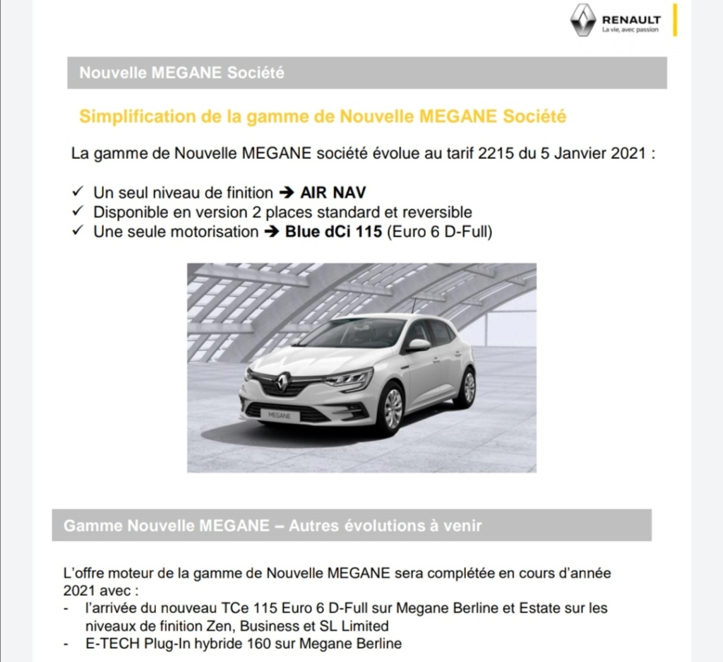 2019 - [Renault] Megane IV restylée  - Page 28 Screen33