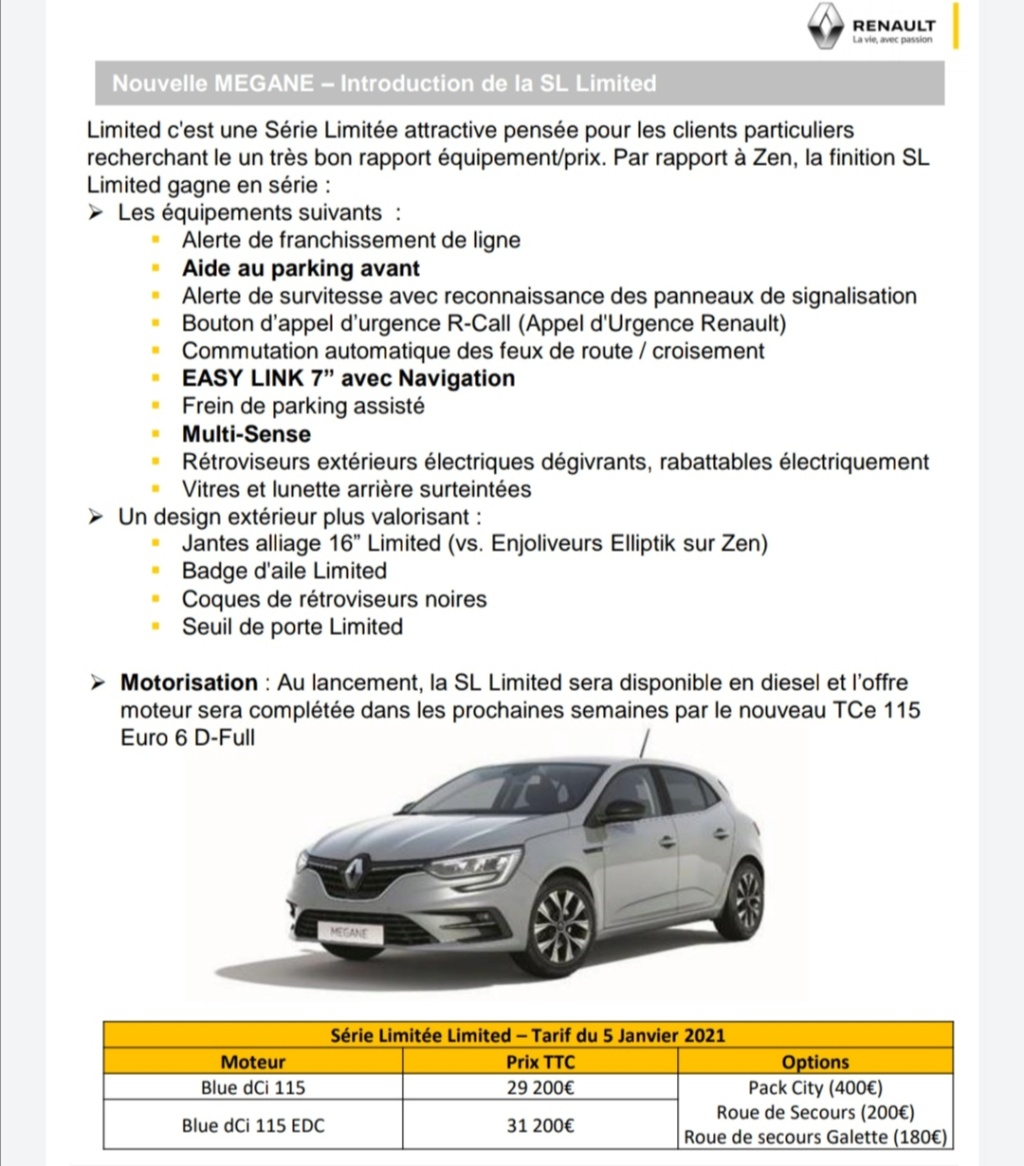 2019 - [Renault] Megane IV restylée  - Page 28 Screen34