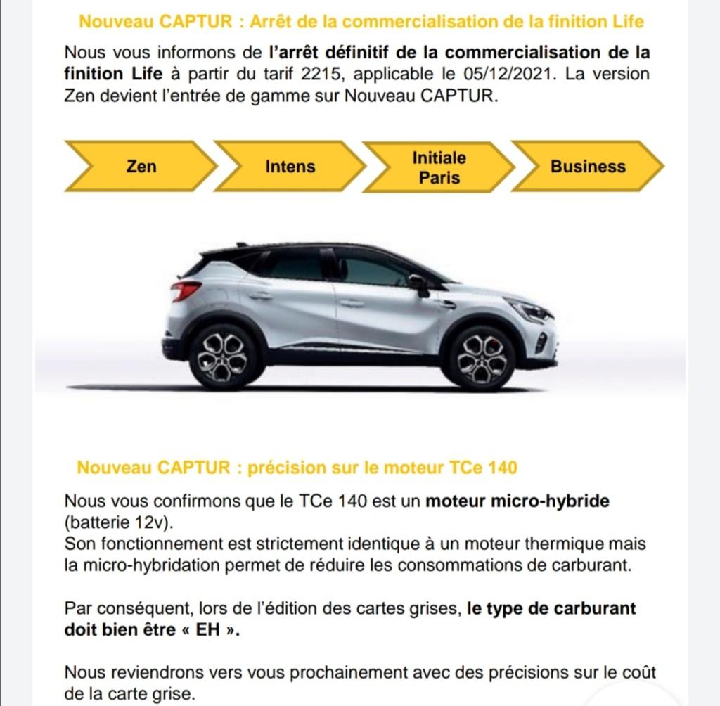 2019 - [Renault]  Captur II [HJB]  - Page 27 Screen43