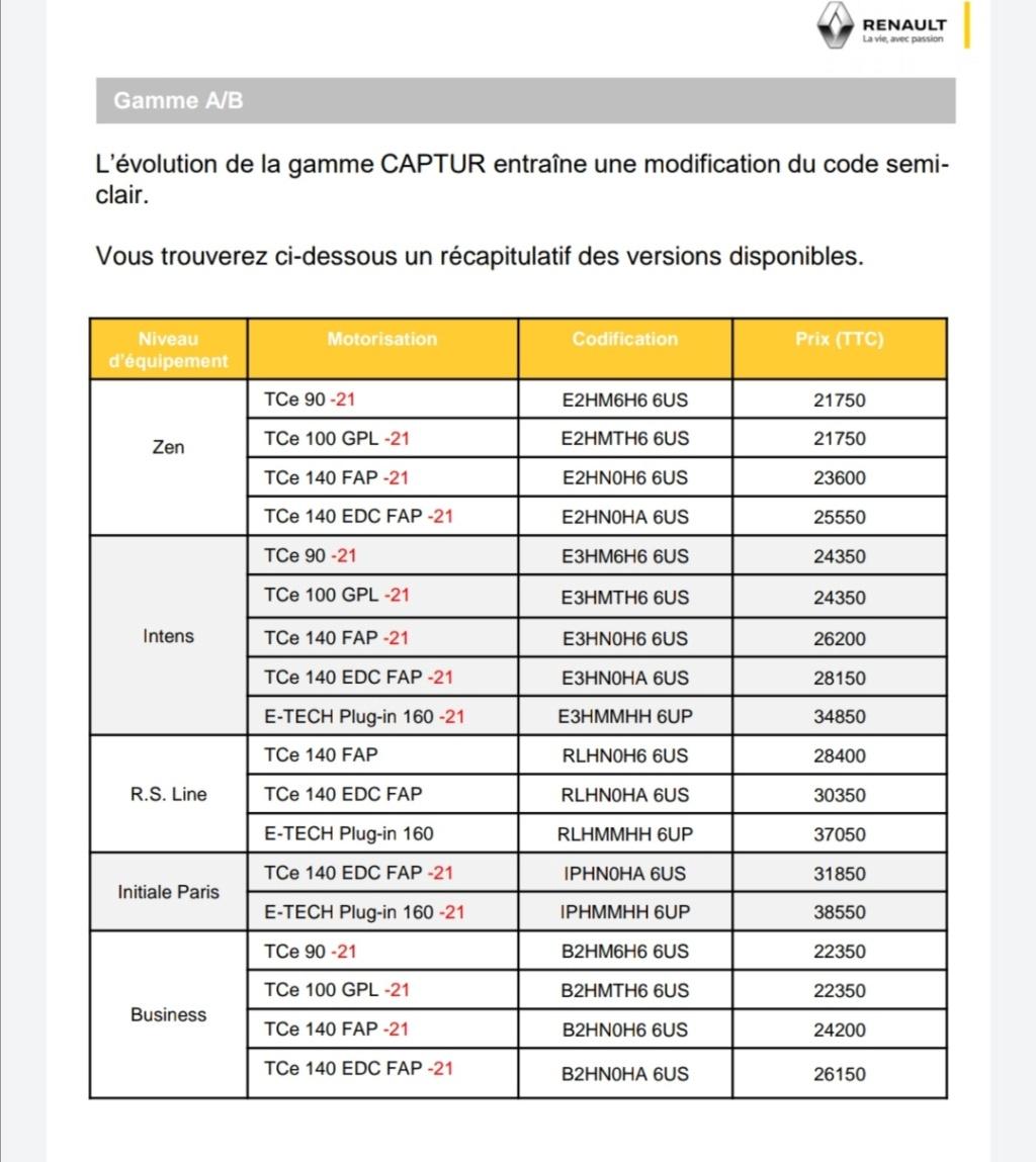 2019 - [Renault]  Captur II [HJB]  - Page 27 Screen45