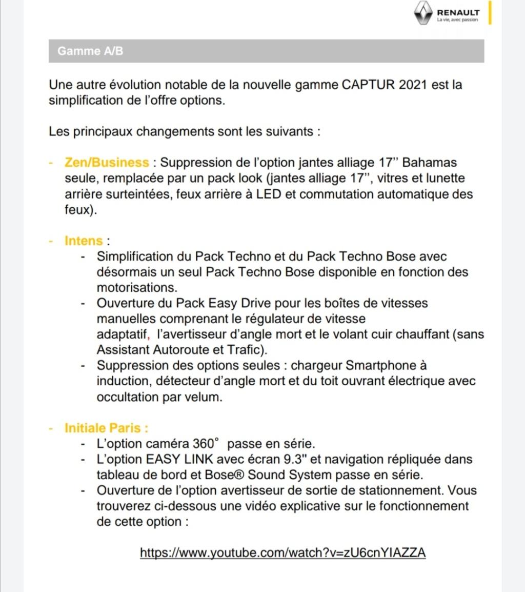 2019 - [Renault]  Captur II [HJB]  - Page 27 Screen46
