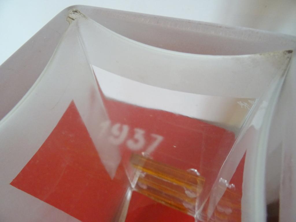 Vase en Verre Art Déco signé A.RIECKE - 1937 Dsc09610