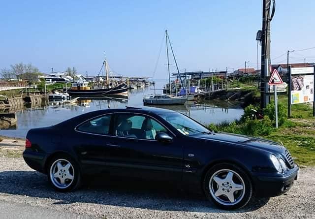 cherche W208 CLK essence optionné 57077610