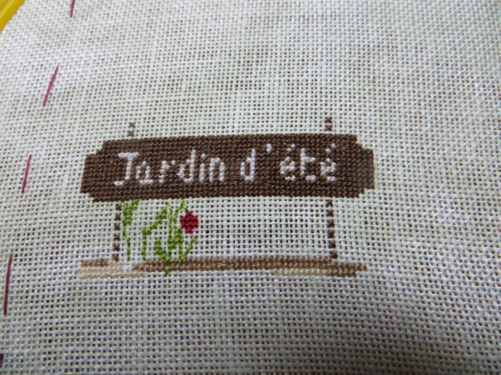 """2019 - SAL """"JARDIN D'ETE"""" - Photos des étapes ! - Page 2 N110"""