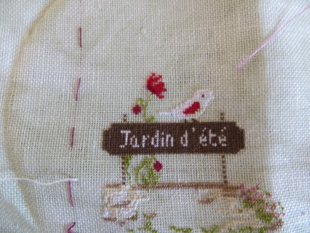 """2019 - SAL """"JARDIN D'ETE"""" - Photos des étapes ! - Page 2 N210"""