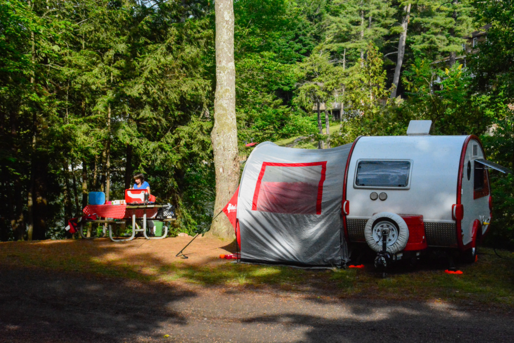 Camping Ivy Lea campground dans les Mille-Iles Campin10