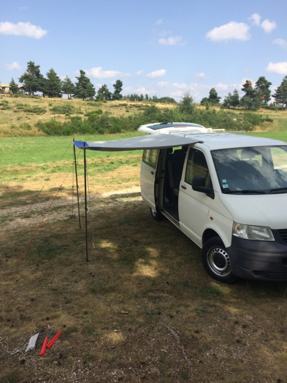 Auvent isabella + galerie + rail pour VW T5 Img_2710