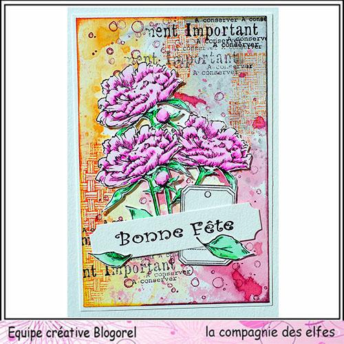 Carte fête des mères  26 mai 3/3 à programmer Blogo137