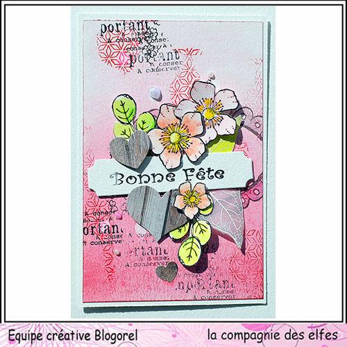 Carte fête des mères  26 mai 3/3 ....A programmer . Blogo164
