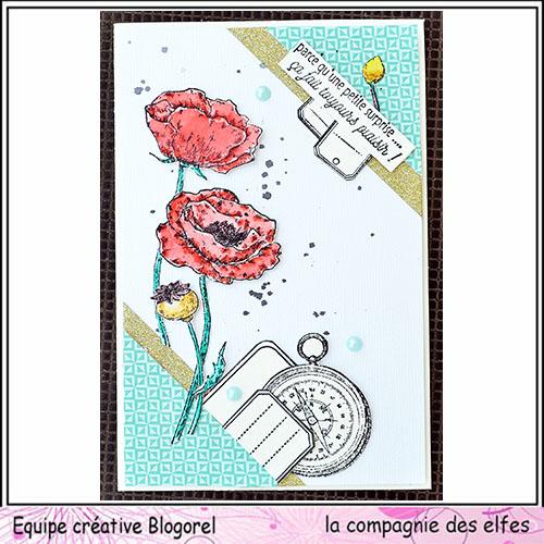 Cartes créatives Août 2019. Blogo215