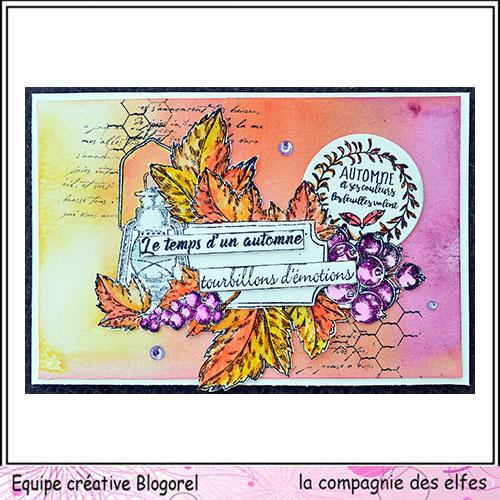 Cartes créatives d'Octobre. Blogo232