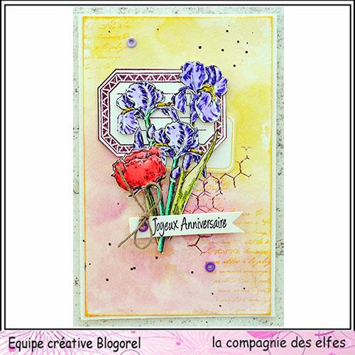 Cartes créatives Août 2019. Blogo252