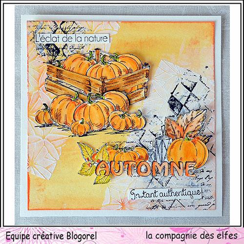 Cartes créatives de Septembre. Blogo253
