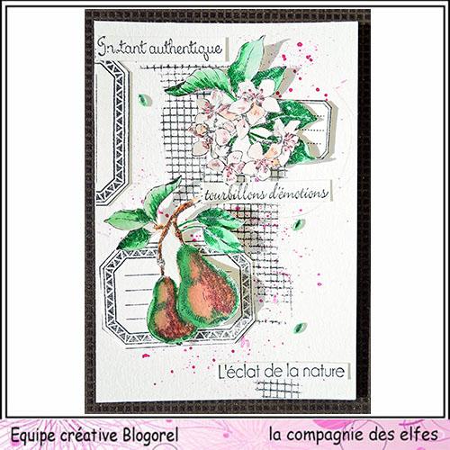 Cartes créatives de Septembre. Blogo269