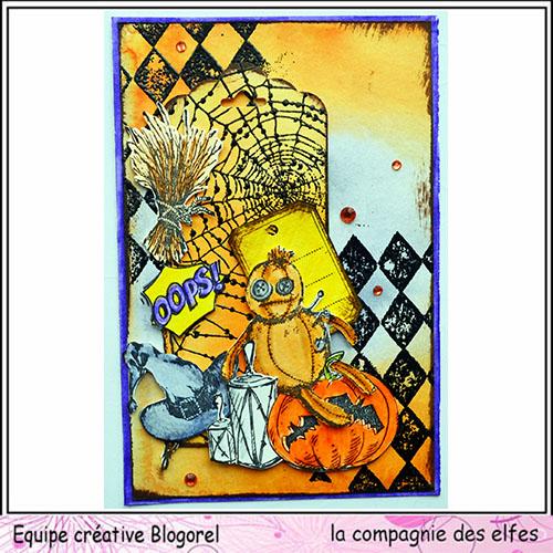Cartes créatives de Septembre. Blogo272