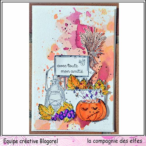 Cartes créatives de Septembre. Blogo276