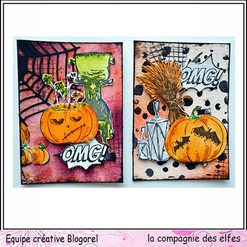 Cartes créatives d'Octobre. Blogo281