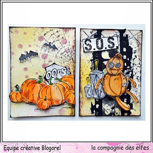 Cartes créatives d'Octobre. Blogo282