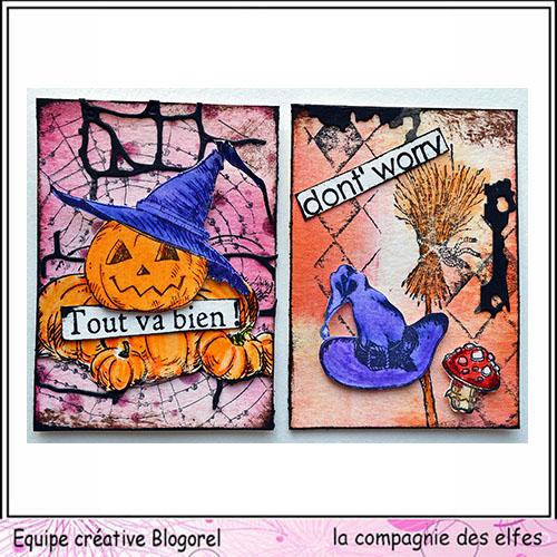 Cartes créatives d'Octobre. Blogo283