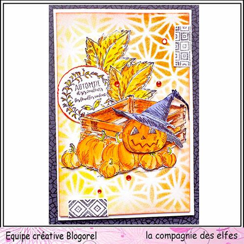 Cartes créatives d'Octobre. Blogo285