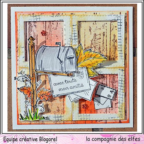 Cartes créatives d'Octobre. Blogo291